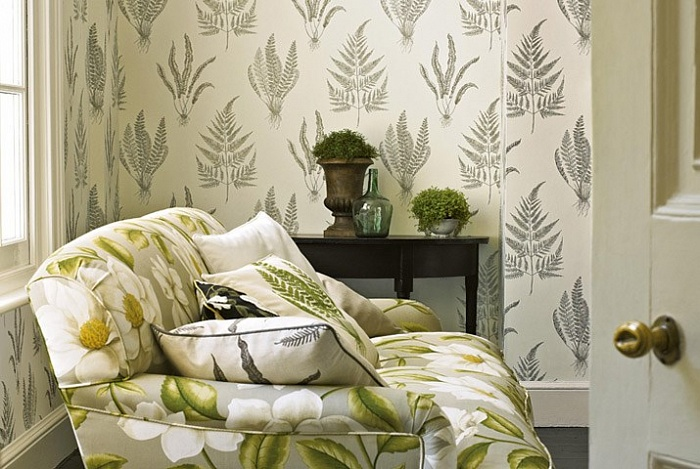 A PAINTERS GARDEN WALLPAPERS